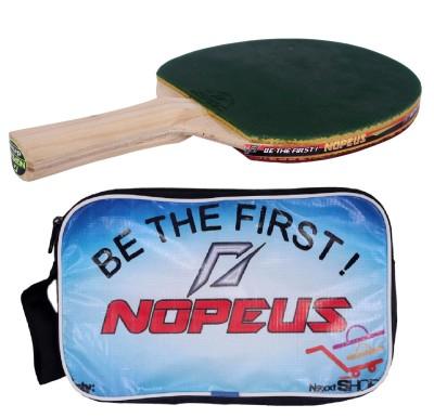 NOPEUS DRIVE GREEN RED Table Tennis Racquet (Green, Red, Weight - 172 g)