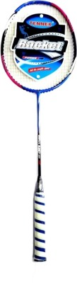 Tennex Badminton Racket T888 Strung Badminton Racquet (Blue, Pink, Weight - 224)
