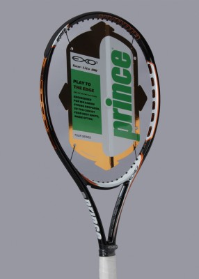 Prince Exo Tour Lite 100 4 Unstrung Tennis Racquet (Black, Orange, White, Weight - 272.16)