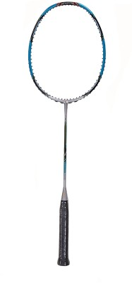 APACS Fleet N Power 900 G2 Unstrung Badminton Racquet (Silver, Blue, Weight - 82 g)