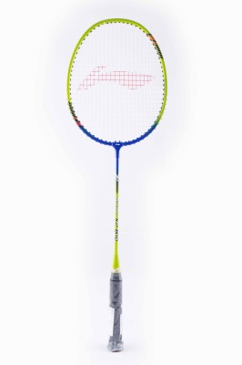 Li-Ning XP810 S2 Strung Badminton Racquet (Green, Blue, Weight - 85 g)