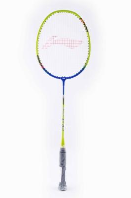 Li-Ning XP810 S2 Strung Badminton Racquet (Green, Blue, Weight - 85 g)