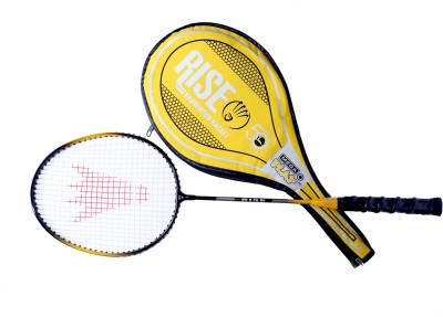 Megaplay RR 1 G4 Strung Badminton Racquet (Gold, Weight - 90 g)