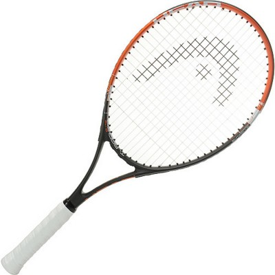 Head Ti Radical Elite G4 Strung Tennis Racquet (Black, Orange, Weight - 300 g)