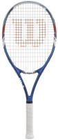 Wilson US Open Adult L3 Strung Tennis Racquet (Multicolor, Weight - 381)