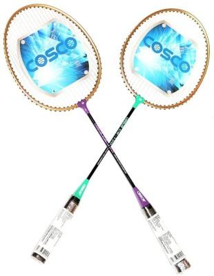 Cosco CB 120 G4 Strung Badminton Racquet (Multicolor, Weight - 180 g)