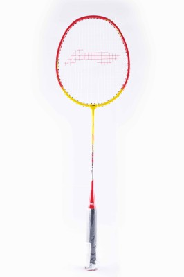 Li-Ning XP807 S2 Strung Badminton Racquet (Red, Yellow, Weight - 85 g)