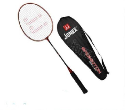 JJ JONEX HIGH QUALITY MILLENIUM Strung Badminton Racquet (Multicolor, Weight - 110 g)