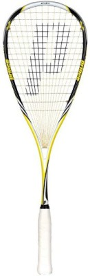 Prince Pro Rebel 950 G4 Unstrung Squash Racquet (Black, Yellow, Weight - 135 g)