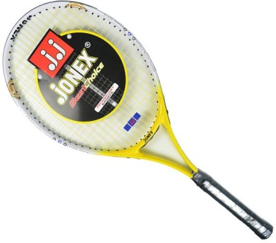 Jonex Pro 646 Standards Unstrung Tennis Racquet (White, Yellow, Weight - 250 g)