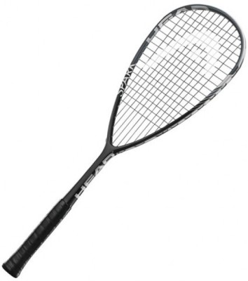 Head Spark Tour Strung Squash Racquet (Black, White, Weight - 300 g)