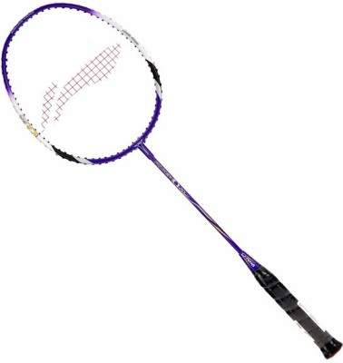 Li-Ning Power Q 20 S2 Unstrung Badminton Racquet (Purple, White, Weight - 89 g)