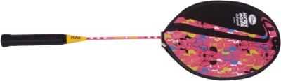 Disney Minnie Mouse G4 Strung Badminton Racquet (Pink, Weight - 400 g)