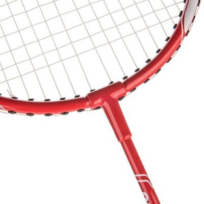 Artengo BR730 JUNIOR G4 Strung Badminton Racquet (Red, Weight - 110 g)