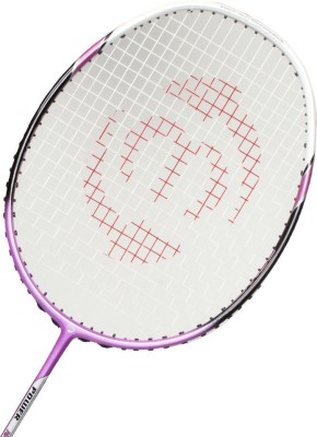 Maspro Power Nano Platinum 9840 G4 Strung Badminton Racquet (Purple, Weight - 85 g)