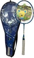 Guru Magic G4 Strung Badminton Racquet (Blue, Weight - 90)