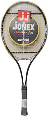Jonex BLACKEN_1008 G4 Strung Badminton Racquet (Black, Weight - 150 g)