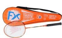 Megaplay FX R1 G4 Strung Badminton Racquet (Orange, Weight - 90)
