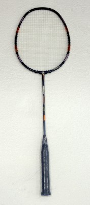 OSIAN JAGUAR 650 with 1 DF Shorts G2 Strung Badminton Racquet (Grey, Weight - 85 g)