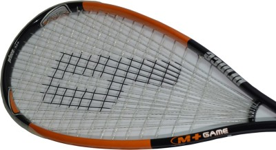 PRINCE MORE+ GAME G0 Strung Squash Racquet (Black, Weight - 147 g)