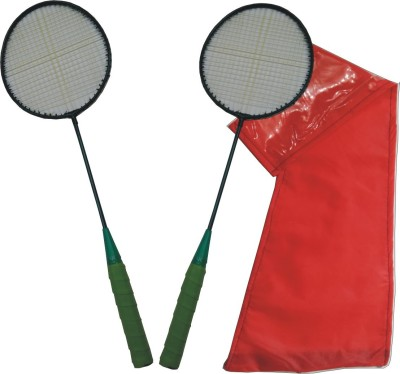 Jayam Rangiiila (2 RACKET + Bag) G4 Strung Badminton Racquet (Multicolor, Weight - 130 g)