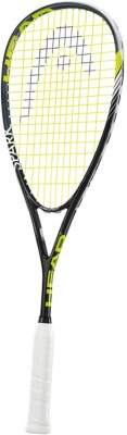 Head Spark Pro 1.0 - 5 Strung Squash Racquet (Grey, Green, Weight - 170 g)