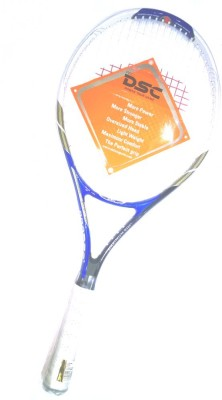 DSC TI THUNDER-BLUE G4 Strung Squash Racquet (Blue, Weight - 320 g)