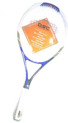 DSC TI THUNDER-BLUE G4 Strung Squash Racquet (Blue, Weight - 320 g)