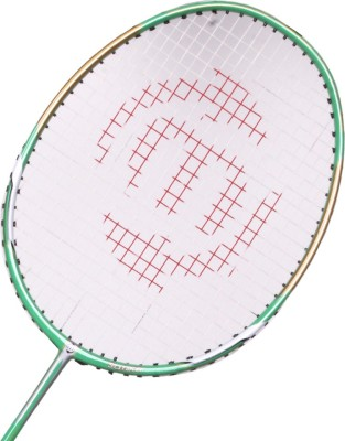 Maspro Power Platinum G4 Strung Badminton Racquet (Green, Weight - 300 g)