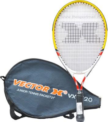 Vector X VXT 520 Size 21 Strung Tennis Racquet (Yellow)