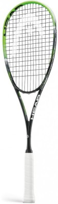 Head Graphene Xt Xenon 120 G4 Strung Squash Racquet (Green, Black, Weight - 120 g)