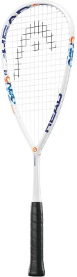 Head Graphene XT Cyano 110 G4/3 Strung Squash Racquet (White, Weight - 120 g)
