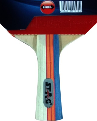 Stag Master Stroke Table Tennis Racquet (Blue, Red, Weight - 182 g)