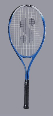 Silver's Flow 555 Gutted G3 Strung Tennis Racquet (Weight - 286)