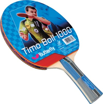 Butterfly Timo Boll 1000 Table Tennis Racquet (Weight - 80 g)