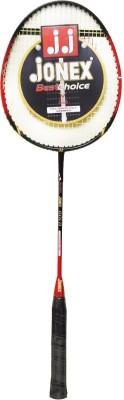 Jonex Pulse Gold G4 Strung Badminton Racquet (Black, Weight - 150 g)