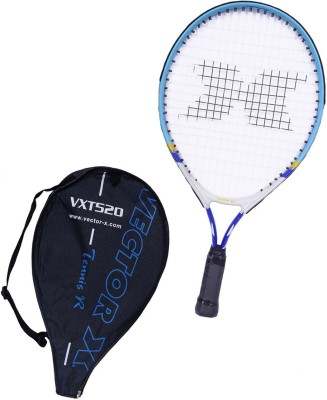 Vector X Vxt 520 19 inches 1# Strung Tennis Racquet (Blue, White, Weight - 171 g)