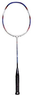 Gamma Vibram 5.0 Powerlite G4 Unstrung Badminton Racquet (Grey, Red, Purple, Weight - 85 g)