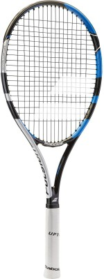 Babolat Pulsion 102 L3 (4 3/8) Strung Tennis Racquet (Black, Grey, Weight - 350 g)