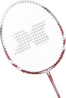 Vector X VXB-1650 Strung Badminton Racquet Silver, Red