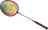Classic Power-007 G4 Strung Badminton Racquet (Red, Black, Weight - 100)