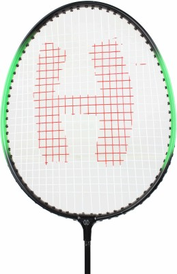 MDI Harley 6 G4 Strung Badminton Racquet (Black, Green, Weight - 250 g)