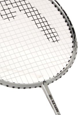 Head Ti Reflex 100 Strung Badminton Racquet (Black, White, Weight - 98)