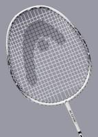 Head Ti Reflex 100 Strung Badminton Racquet Black, White, Weight - 98