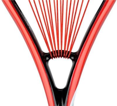 Prince Pro Air Stick Lite 550 G4 Unstrung Squash Racquet (Black, Red, Weight - 130 g)