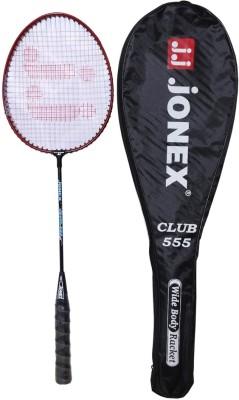 Jonex Club555-A Standard Strung Badminton Racquet (Multicolor, Weight - 400 g)