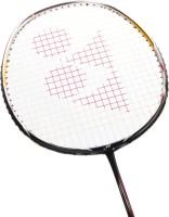 Yonex Nanoray 100 G4 Strung Badminton Racquet Gloss Red, Weight - 3U