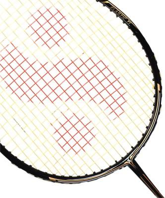 Silver's Impulse G3 Strung Badminton Racquet (Black, Gold)