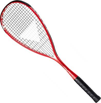 TECNIFIBRE STORM G3 Strung Squash Racquet (Red, Weight - 155)