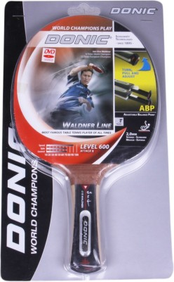 Donic Waldner 600 G1 Unstrung Table Tennis Racquet (Black, Weight - 120 g)